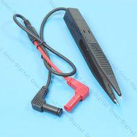 Wholesale Tweezer Probe Multimeter - Wholesale- SMD Test Clip Meter Probe Multimeter Tweezer Capacitor