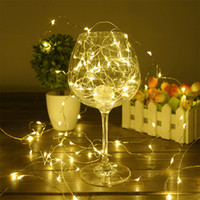 Wholesale Led Outdoor String Lights Wholesale - Outdoor String Christmas Lights Copper Wire Starry Lighting String Fairy Lights For Decoration LED Christmas Lights 4 Sizes--3M 30LED