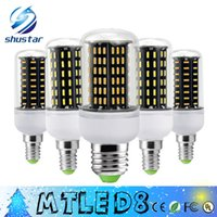 Wholesale Corn Spotlight Lamp Bulbs - 5 Unit Ultra Bright 12W 18W 25W 30W 35W Led Bulb E27 E14 GU10 G9 Led Lights SMD 4014 Led Corn Lights AC 85-265V lamp bulbs 360deg Spotlight