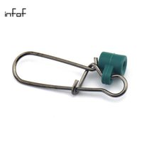 Wholesale Wholesale Fish Finders - INFOF 100PCS lot Heavy Duty Fishing Sinker Slide Nickel Black Fish Finder Slide fishing swivels snap pesca