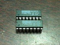 j hifi venda por atacado-PCM1702. PCM1702-J. PCM1702-L. PCM1702-K, 20-BIT DAC / pacote de mergulho duplo em linha com 16 pinos / PDIP16 / HIFI AUDIO IC