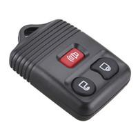 ford key case shell al por mayor-Negro al por mayor de 3 botones sin llave reemplazo de entrada de casos alejado de la llave Fob Shell para Ford CIA_40R