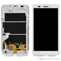 Wholesale Droid Lcd Screen - For Motorola Droid Ultra XT1080 lcd display Touch Screen Digitizer glass + Bezel Frame Assembly Free shipping