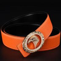 Wholesale Men S Cummerbunds - male genuine leather strap designer belts mens high quality leather belt men women belts cummerbunds luxury man belt