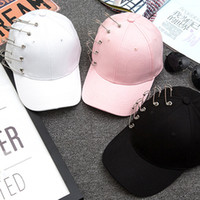 Wholesale Korean Stars Cap - The New South Korean star Quan Zhilong Jay Park with the sun peaked cap hoop men and women fashion baseball cap