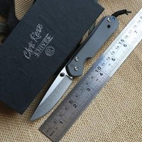 Wholesale Small Sebenza D2 - Chris Reeve small Sebenza titanium D2 Folding blade knife Tactical camping hunting outdoors pocket survival knives Utility Tools
