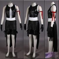 Wholesale Tifa Lockhart Costumes - Final Fantasy Tifa Lockhart Cosplay Costume