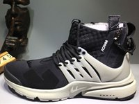Wholesale Cargos Discount - 2016 Acronym Air Presto Mid Running Shoes,Discount Cheap Sneaker Trainers Sportswear,Black-bamboo Lava olive cargo green Sports Running Shoe