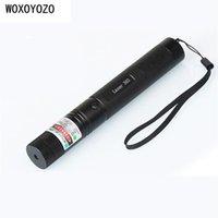 Wholesale Laser Pointer Light Sky - Green Laser Pointer Laser Flashlight Sight Adjustable Focus Lazer pen Light with Safe Key with Sky stars Cap