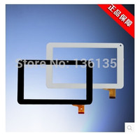Wholesale Screen For Freelander Tablet - Wholesale- Freelander SXZ-PD100 tablet pc capacitive touch screen HS1248 black white free shipping
