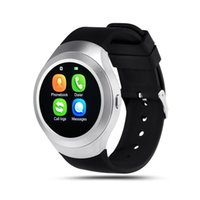 Smart Watch Charming L6 tarjeta SIM IPS de pantalla redonda de acero inoxidable Bluetooth Smartwatch Push o iOS Android Phone