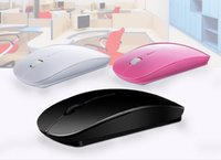Wholesale 2 GHz USB Wireless Optical Mouse Mice for Apple Mac Macbook Pro Air PC Laptop Optical Wireless Computer Mouse