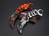 Wholesale Mk Box - Newest Mantis MK-3 X64 Tactical Folding Knife 5Cr15Mov Aluminum Handle Claw Karambit Outdoor Hunting Survival Pocket Knife with Retail Box