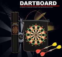Wholesale Target Darts Wholesale - Children's interactive toys, magnetic double dart target, flocking dart target, no injury wall, safety fitness training specialty