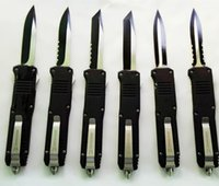 Wholesale Full Tactical - Benchmade Butterfly FULL SIZE BM C07 dual action 25CM long Hunting Folding Pocket Knife Survival Knife Xmas gift for men 1pcs