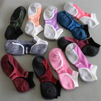 Wholesale Men Body Stockings - New Arrival Quick Drying Scoks Women And Men Fashion Socks Short Sports Secrets Boat Ankle Sock Skateboard Sock In Stock DHL Fast Shipping