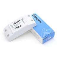 Wholesale Wireless Switch Module - Original Itead Sonoff Basic Wi-Fi Smart Switch Module DIY Wireless Remote Domotica Switches Wifi Light Home Controller