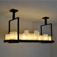Wholesale Kevin Reilly Light - Kevin Reilly Altar Modern Pendant lamp LED candle remote control chandelier Lighting Innovative metal fixture candle suspension lamp
