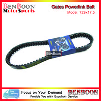 Wholesale Drive Gate - Wholesale- Gates Powerlink Drive V-Belt 729x17.5 for GY6 50cc 139QMB Engine Chinese Scooters ATV and Go Kart Baotian Sunl Roketa Romet Baja