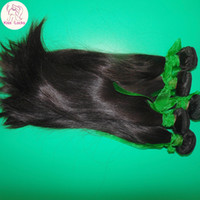 Wholesale Shop Wholesale Hair Color - Wonderful Shop My Beautiful Virgin Indian RAW Bouncy Straight Weave 4 bundles Thick Wefts 8A Unprocessed