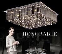 Wholesale Led Name Lights - Name Brand New Arrival Modern Luxury Fashion Drawing Room Bedroom LED Crystal Ceiling Chandelier Light 80cm Diameter Lighting LLFA
