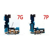 Wholesale Microphone Antenna - Free DHL Charging Port USB Charger Dock Microphone Antenna Flex Cable For iPhone 7 Plus 7g SE 6S Plus 6S 6g 5S