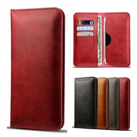 Etui Portefeuille Universel Pour LG stylo 3 Iphone 7 6 6s Plus Samsung Folio Couverture Folio Ultral Slim Card Slots Sac OPPBAG