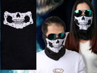 Wholesale Outdoor Equipment Seamless Magic Scarf Bicycle Ride Scarf Viking Scarf chin Skull Hooded Mask