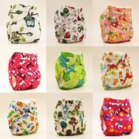 Wholesale happy flute cloth diaper cover for baby cotton reusable diaper covers waterproof breathable newborn washable diaper fit kg