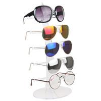бытовые очки оптовых-Мода 5 пар Очки стенд полка солнцезащитные очки держатель бытовые украшения дисплей Мужчины Женщины очки кадр витрина