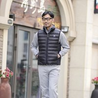 Wholesale Men S White Sleeveless Jacket - Men 's fashion down jacket vest men' s down jacket fashion men 's down jacket