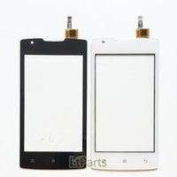 Wholesale Lenovo Smartest Phone - Wholesale- 4.0 inch Smart Phone Touch Panel Touchscreen For Lenovo A1000 Touch Screen Digitizer Front Glass Sensor Screen TP Free Shipping