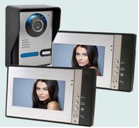 Wholesale Visions Apartments - 7 inch Video Intercom Doorphone IR Night Vision Camera Monitor Kit for Apartment Security video door monitor