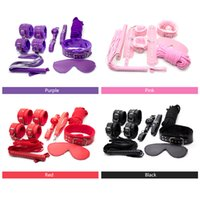 Wholesale sex game face for sale - Group buy 2016 Sex bandage Leather bdsm adult sex game Handcuffs face bandage Headgear Restraint Sex Toys for Couples