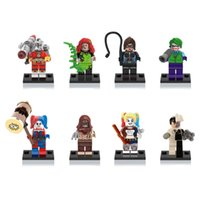 Wholesale Toy Building Blocks Bulk - Bulk Lots Super Heros Minifigurs DIY Diamond Building Blocks Anti Autism and ADHD Time Killer Stress Reliever Kids Toys