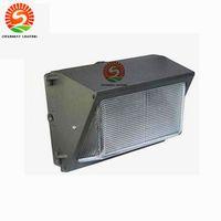 Wholesale Sensor Pack - UL DLC Photocell Sensor Outdoor LED Wall Pack Light 60W 80W 100W 120W Industrial Wall Mount LED Lighting Daylights 5000K AC 90-277V
