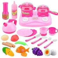 Wholesale The kitchen toys is a novelty to imitate kitchen utensils and toys bringing fun for the children