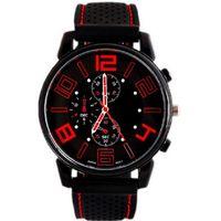 gt silikon quarzuhr großhandel-Luxus lässig quarzuhr herren military uhren gt sport armbanduhr schwarz silikon uhr mode stunden kleid uhr