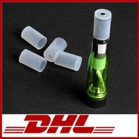 510 Silicone Mouthpieces Test Drip Tips Caps Bouchons jetables Caps pour Atomiseur CE4 / CE5 / MT3 / Vivi Nova Clearomizer Cigarette électronique