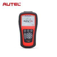 Wholesale scanner maxidiag - Autel MaxiDiag Elite MD802 For 4 System 4 in 1 Auto OBD2 Automotive Scanner Diagnostic Code Reader Scan Tool Scaner Automotriz