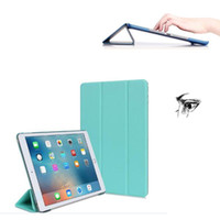 Wholesale Design Cases For Ipad - Ultra Thin Magnetic Smart iPad Case Stand Cover for ipad Pro 9.7 Huawei M2 Lite 7 10 inch Galaxy Tab A T580 LG Gpad 3 V525 Opp
