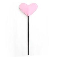 Wholesale Sex Ride - BDSM Whip Pink Heart Leather Riding Crop Sex Whip Spanking Paddle Slave Flogger Fetish Adult Games Sex Toys For Couple