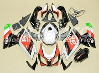 Wholesale 125 Fairing - New Injection Mold ABS Full fairing kits for aprilia RS125 2006-2011 RS 125 06 07 08 09 10 11 RS4 bodywork set+Tank cover red black silver
