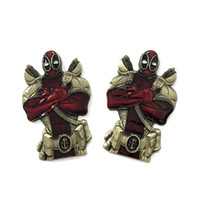 Wholesale Wholesale 3d Arts Crafts - 10pcs New Navy Deadpool CPO Coin Anti-hero 3D Metal Crafts Collectiable Challenge Coin, United State Coin