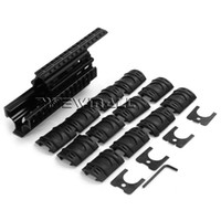 Wholesale Ak47 Rail Mount - Tactical AKs Quad Rail Mount Handguard Rail with 12pcs Rail Covers for AK47 74 Aks