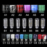 Wholesale Wholesale Jade Products - 2017 new epoxy resin drip tip jade drip tip stainless steel drip tip Europe and America hot sale product