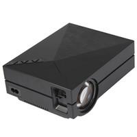 support de la télécommande usb pc achat en gros de-Gros-GM60 Projecteur LCD 1000LM 800 x 480 Pixels 1080P HD USB HDMI VGA Connectivité AV 1080P Lecteur Multimédia pour Home Theater Office
