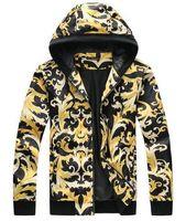 ingrosso acquisto di cappotti invernali-Hot Buy Francia Giacca con cappuccio da uomo 2017 Inverno Giacche casual manica lunga uomo moto tempo libero cappotti giallo 3XL