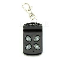 Wholesale universal remote keychain - Wholesale- hot Wireless 4 Channel Remote Control Controller Transmitter Switch Keychain 433MHz