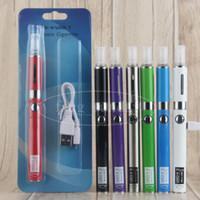 Wholesale Ecig Pass Through - UGO V II 510 Pass through Battery 650 900 mAh V2 Blister Kit with CE4 Vaporizer MT3 ECig Replaceable Cartomizer H2 Blister Pack